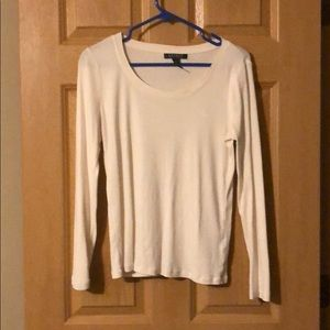 Ralph Lauren long sleeve cream shirt.